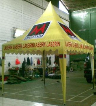 Tenda Promosi Model Kerucut